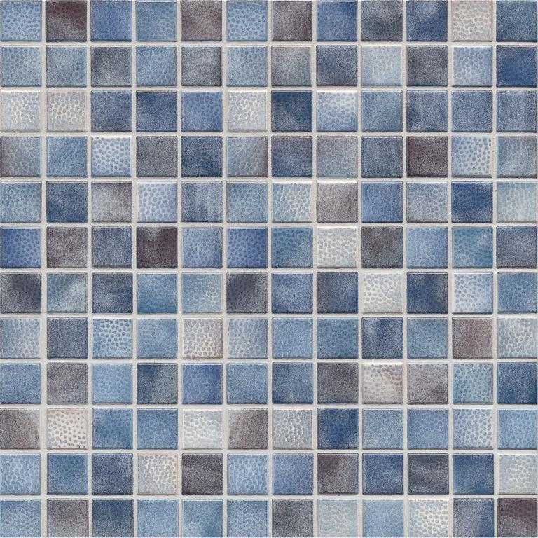 jasba kauri 8723h mosaik graublau mix gl nzend matt 30x30 cm fliesen adeneuer. Black Bedroom Furniture Sets. Home Design Ideas