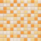 Jasba Lavita 3605H Mosaik sonnenorange matt/glänzend 31x31 cm
