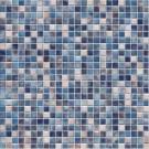Jasba Kauri 8703H Mosaik graublau-mix glänzend matt 30x30 cm