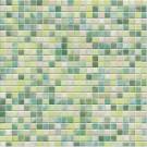 Jasba Kauri 8704H Mosaik aquagrün-mix glänzend 30x30 cm