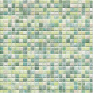 Jasba Kauri Secura 8754H Mosaik aquagrün-mix glänzend matt 30x30 cm