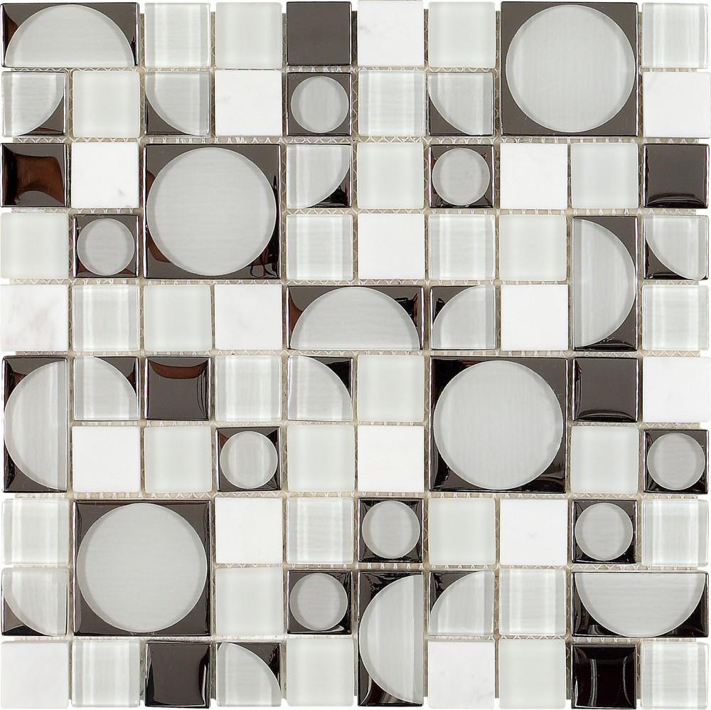 Dune Material Mix Mosaik Bronzo 187120 Metallic 30x30 Cm