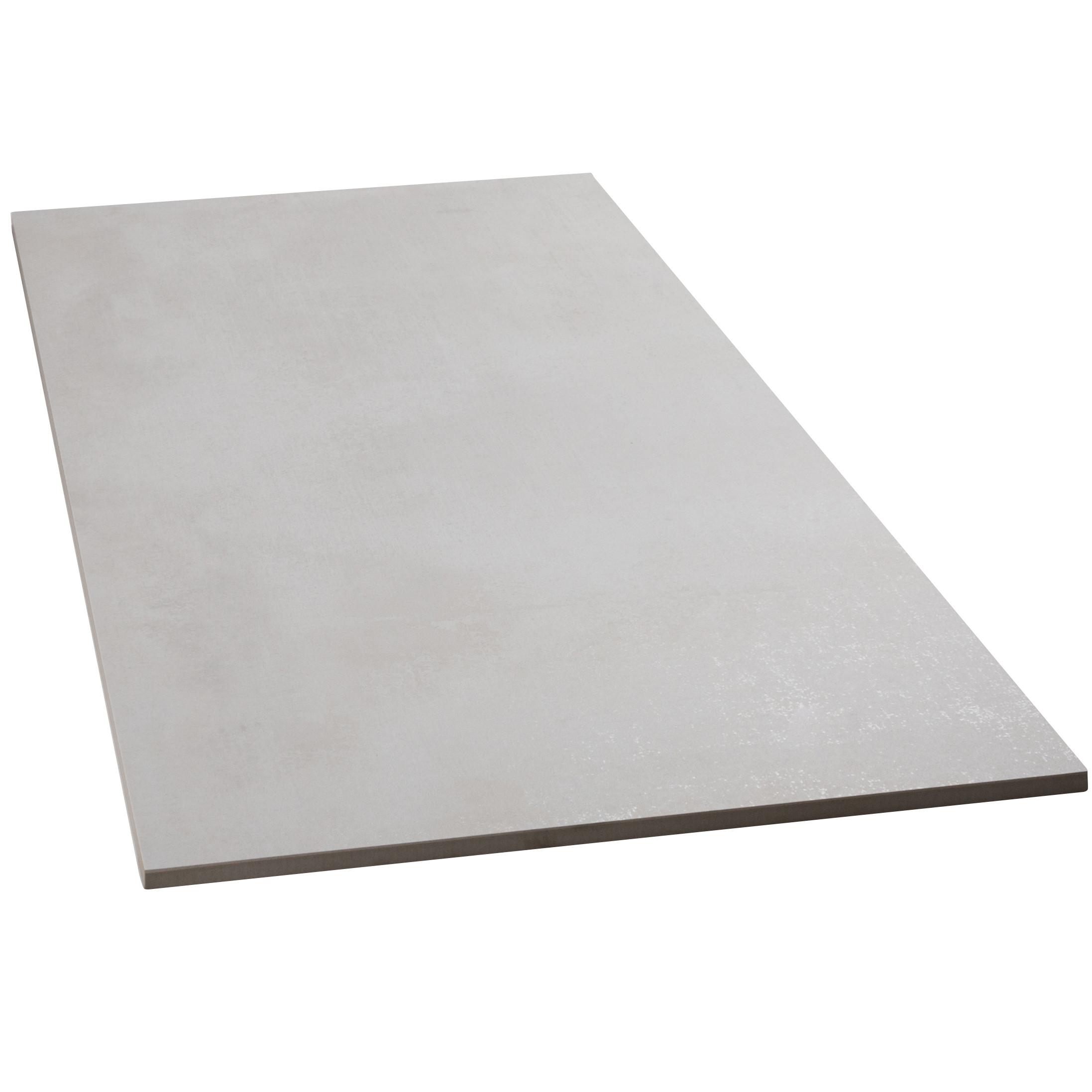 Bodenfliesen Sonderposten Beton blanco matt 75x150 cm Betonoptik