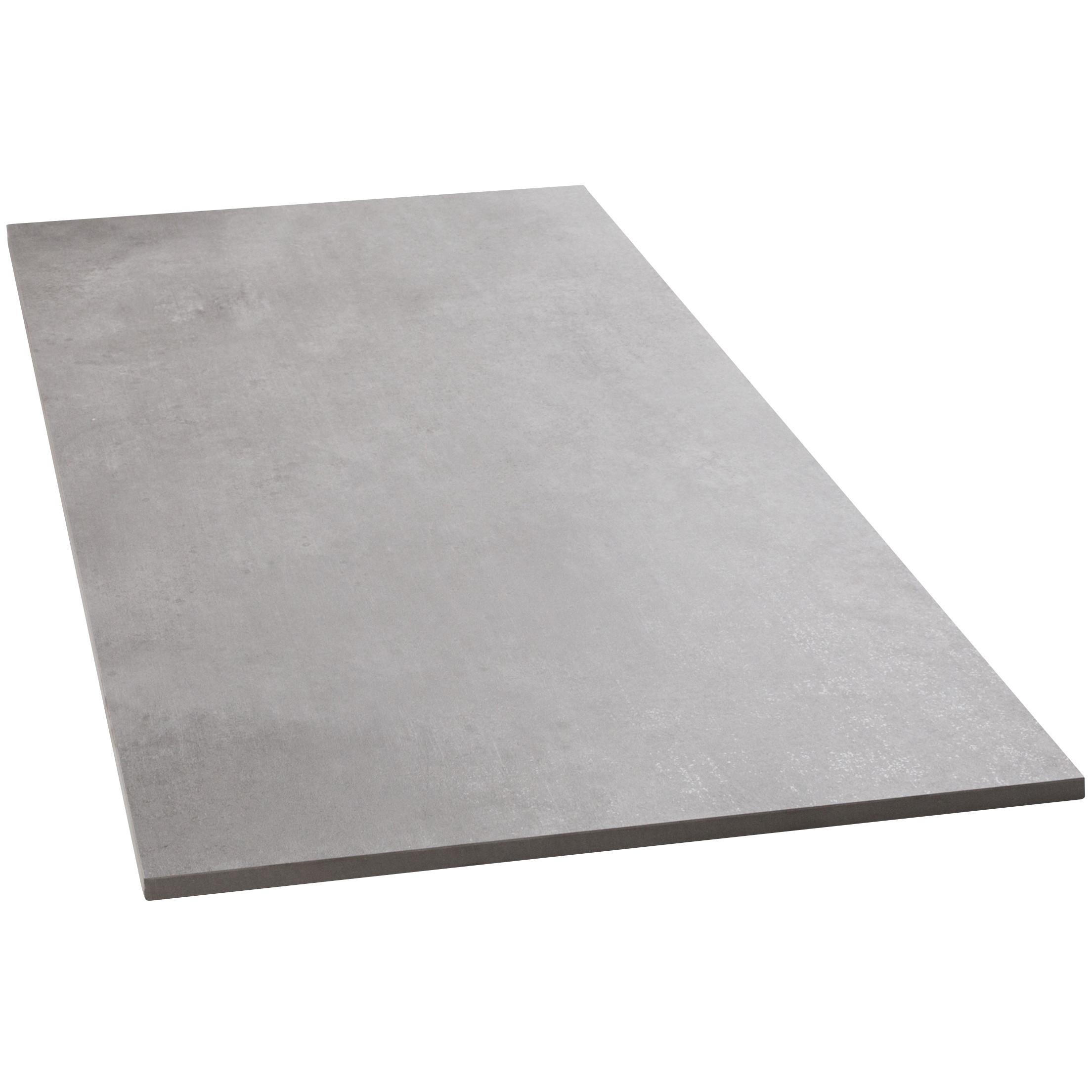 Bodenfliesen Sonderposten Beton gris matt 75x150 cm Betonoptik