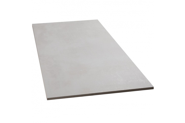 Bodenfliesen Sonderposten Beton blanco matt 75x75 cm Betonoptik