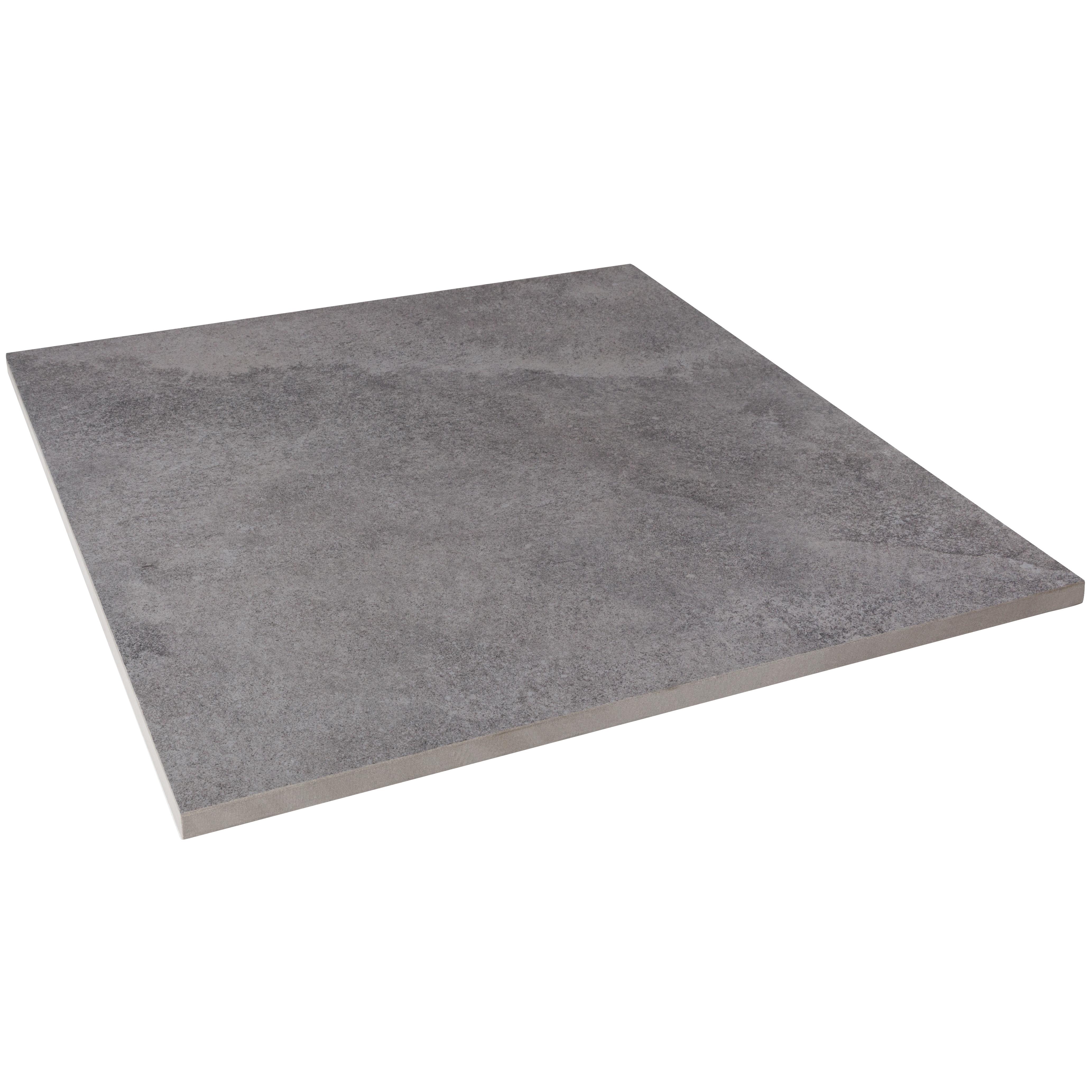 Terrassenplatten Sonderposten Rocky Outdoor grey 200x200x20cm ...