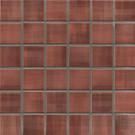 Jasba Highlands Secura 6556H Mosaik karminrot matt 30x30 cm