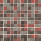 Jasba Highlands 6596H Mosaik karminrot-mix matt 30x30 cm