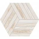 Agrob Buchtal Oak Dekor Hexagon 8470-B698HK Eiche creme matt 30x35 cm