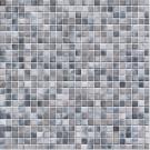 Jasba Kauri Secura 8757H Mosaik felsgrau-mix glänzend matt 30x30 cm
