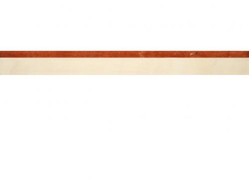 Villeroy & Boch New Tradition Bordüre crema-rosso 3x30 cm