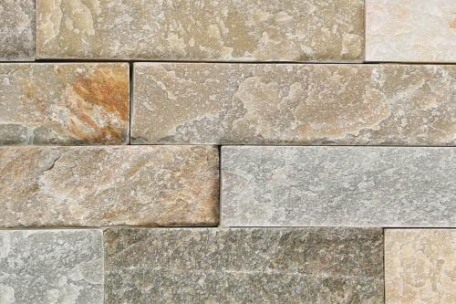 Brickstone 15x60cm beige matt Naturstein Wandverblender