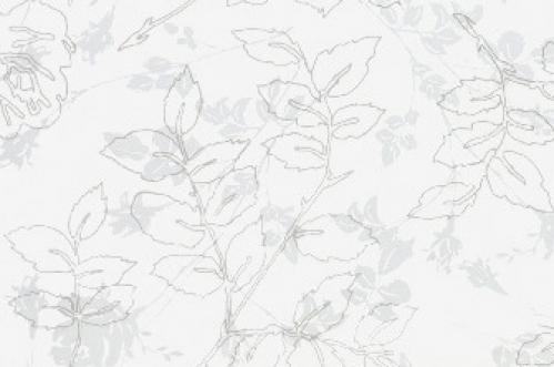 Villeroy & Boch Moonlight Dekor weiß glänzend 30x90 cm