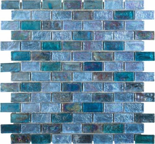 Dune Glasmosaik Secrets 187273 kaltblau/lila 30x30 cm (Neuheit 2016)
