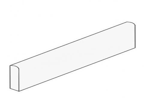 Agrob Buchtal Santiago Sockel naturweiß anpoliert 7,5x60 cm