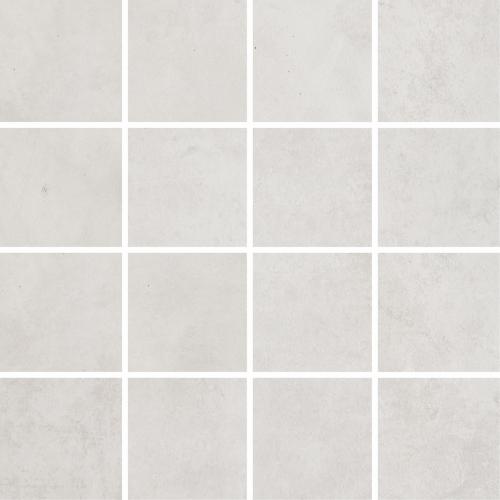 Villeroy & Boch Warehouse 7,5x7,5 Mosaik weiß-grau matt 30x30 cm
