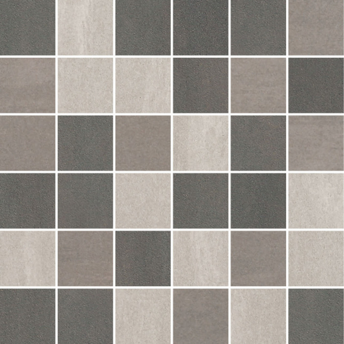 Villeroy & Boch Unit Four Wall 5x5 Mosaik grau multicolour matt 30x30 cm