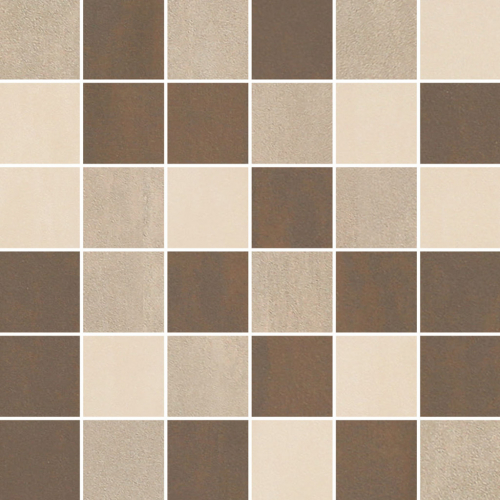 Villeroy & Boch Unit Four Wall 5x5 Mosaik greige multicolour matt 30x30 cm