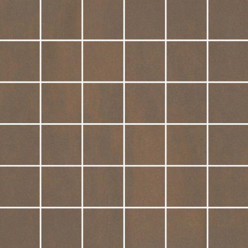 Villeroy & Boch Unit Four 5x5 Mosaik dunkelbraun matt 30x30 cm