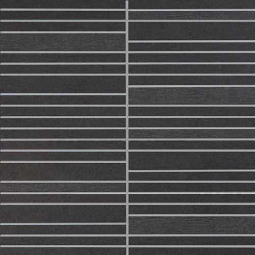 Agrob Buchtal Focus Royal Mosaik 282731 anthrazit-schwarz eben, teilpoliert 30x30 cm
