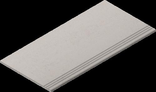 Villeroy & Boch Lobby Treppenauftritt grau matt, reliefiert 30x60 cm