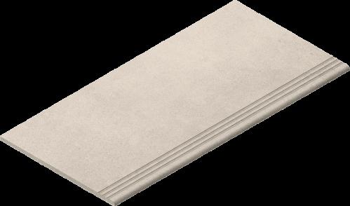Villeroy & Boch Lobby Treppenauftritt creme matt, reliefiert 30x60 cm