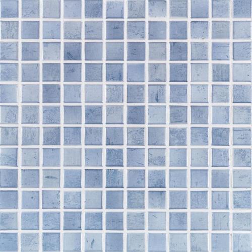 Jasba Paso Secura 3144H Mosaik taubenblau matt 31x31 cm