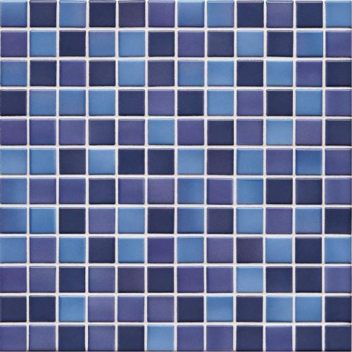 Jasba Lavita 3603H Mosaik indigoblau matt/glänzend 31x31 cm