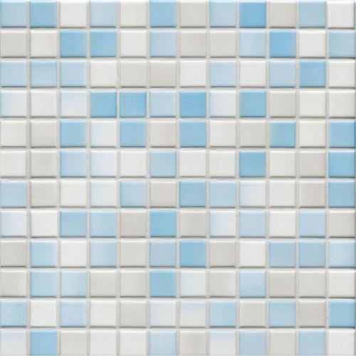 Jasba Lavita 3604H Mosaik wolkenblau matt/glänzend 31x31 cm