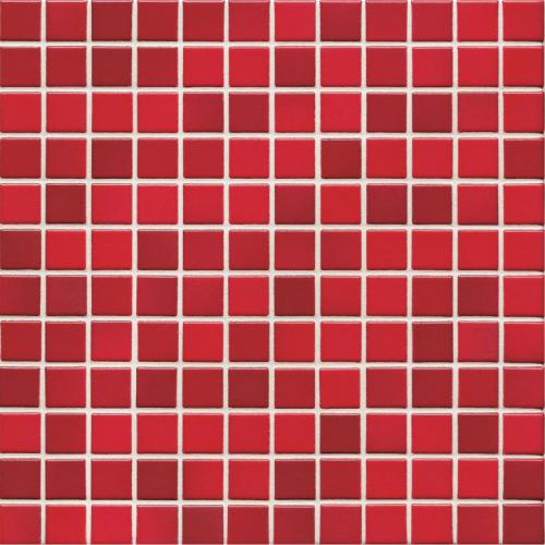Jasba Lavita 3606H Mosaik kirschrot matt/glänzend 31x31 cm