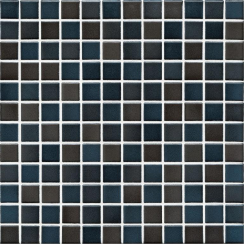 Jasba Lavita 3607H Mosaik graphitschwarz matt/glänzend 31x31 cm