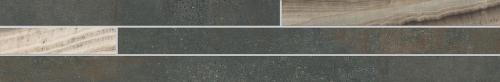 Agrob Buchtal Remix Bordüre Onyx 392907 anthrazit matt 15x90 cm