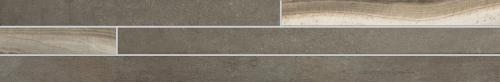 Agrob Buchtal Remix Bordüre Onyx 392910 braun matt 15x90 cm