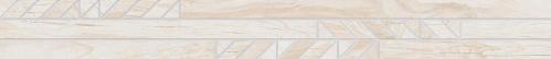 Agrob Buchtal Sky Bordüre Verso 392915H creme matt 10x90 cm