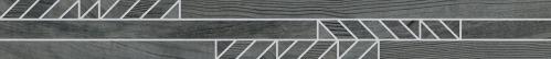 Agrob Buchtal Sky Bordüre Verso 392917H anthrazit matt 10x90 cm