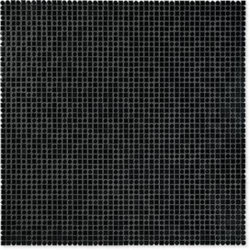 Jasba Loop Mosaik Random-Mix nachtschwarz glänzend 60x60 cm