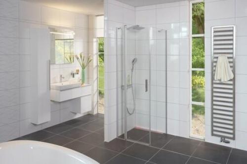 Wandfliesen Villeroy & Boch weiß glänzend 30x60 cm Presskante