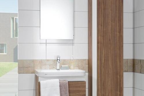 Wandfliese Villeroy & Boch White & Cream weiß abgerundet 30x60 cm Uni 1571 SW00 matt