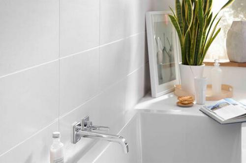 Wandfliesen Villeroy & Boch Classic Glam weiß matt 25x70 cm kalibriert