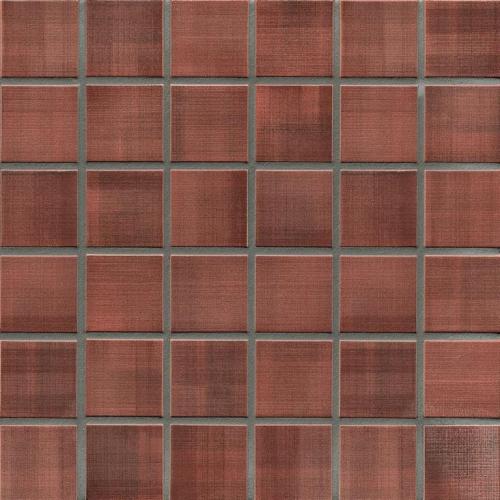 Jasba Highlands Secura Mosaik karminrot matt 32x32 cm