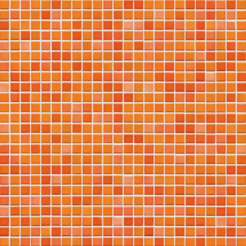 Jasba Atelier 8604H Mosaik citrusorange-mix matt 31x31 cm