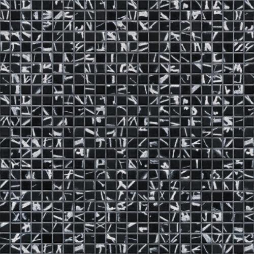 Jasba Atelier 8646H Mosaik tintenschwarz matt 30x30 cm