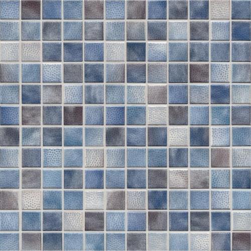 Jasba Kauri 8723H Mosaik graublau-mix glänzend matt 30x30 cm