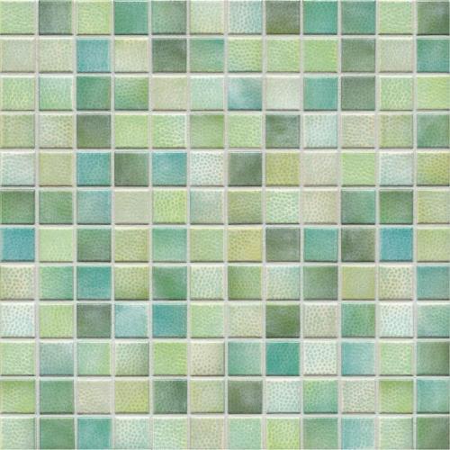 Jasba Kauri 8724H Mosaik aquagrün-mix glänzend matt 30x30 cm