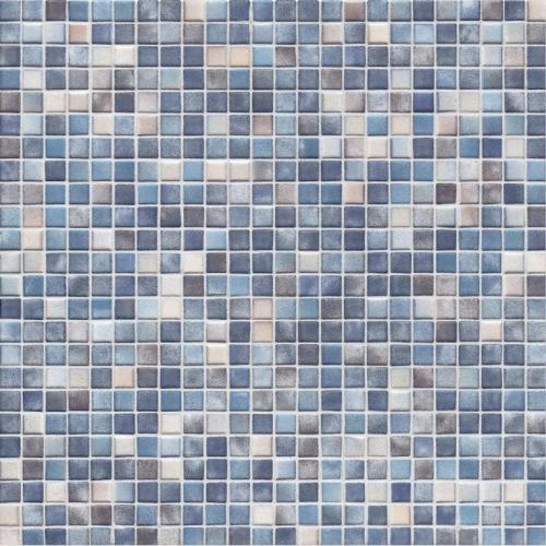 Jasba Kauri Secura 8753H Mosaik graublau-mix glänzend matt 30x30 cm