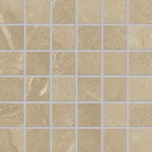 Agrob Buchtal Somero 5x5 Mosaik beige strukturiert,vergütet 30x30 cm