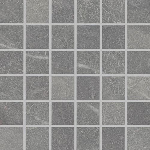 Agrob Buchtal Somero 5x5 Mosaik grau strukturiert,vergütet 30x30 cm