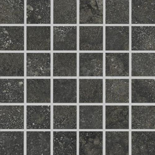 Agrob Buchtal Savona 5x5 Mosaik anthrazit matt 30x30 cm
