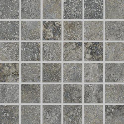 Agrob Buchtal Savona 5x5 Mosaik grau matt 30x30 cm