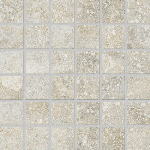 Agrob Buchtal Savona 5x5 Mosaik kalk matt 30x30 cm